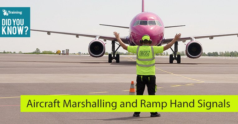 What Is Aircraft Marshalling? - BAA Training